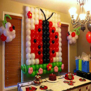 ladybug theme party for girls party