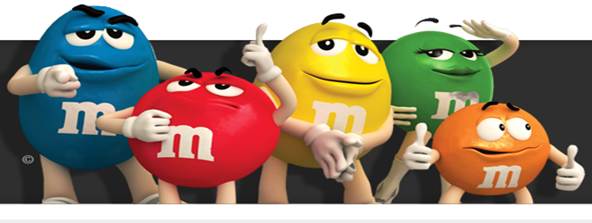 M and M theme party planner for party