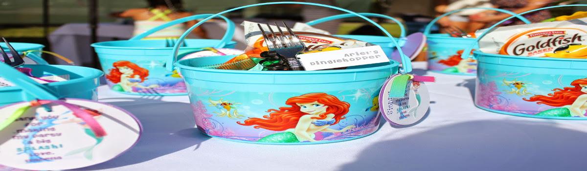 little mermaid theme party ideas