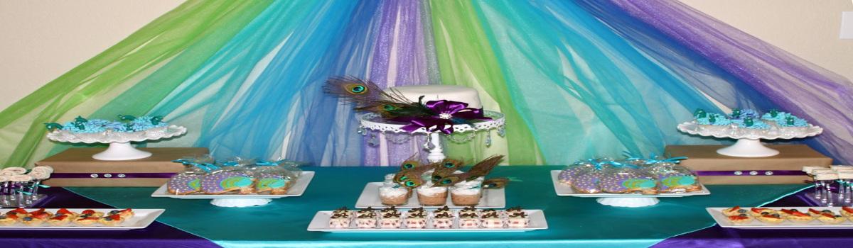 Peacock Theme Party Planner Delhi