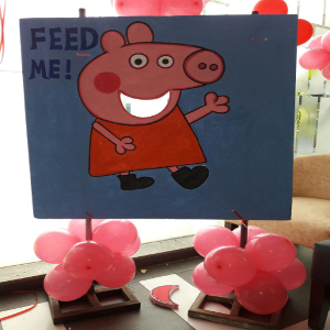 papa pig theme party planner in delhi