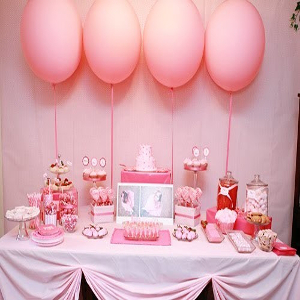 party decoration for girls