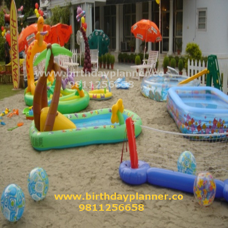 beach theme party in Delhi