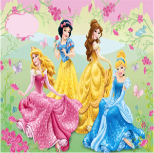 princes theme party for girls party