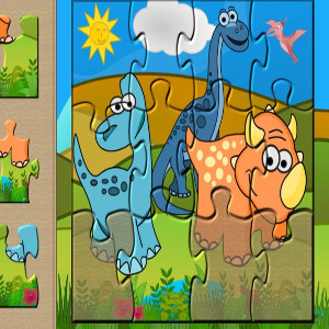 puzzle game for kids party