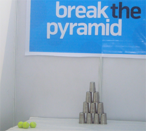 Break the pyramid for corporate