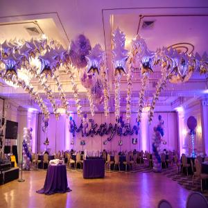 silver star theme party decoration in delhi