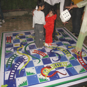 snake and ladder game for birthday party