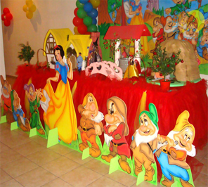 snow white theme party decorator in delhi