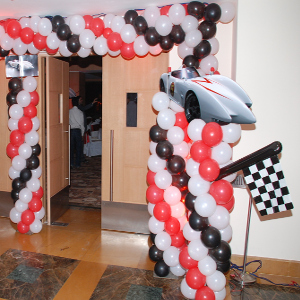 speed racer theme birthday party planner