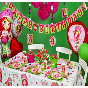 best strawberry theme party planner
