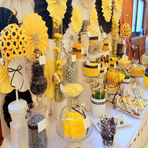 sunflower theme party decorator