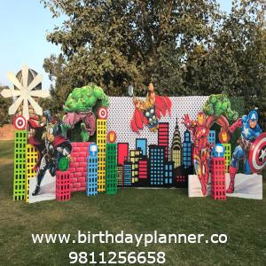 superhero theme party ideas
