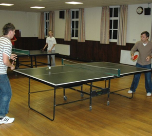 table tennis for event