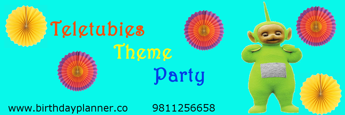 teletubbies theme party planner