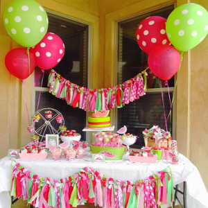 teletubbies theme for birthday party