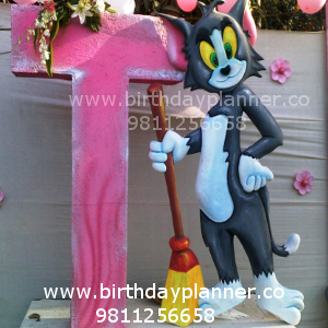 tom and jerry for boys theme planner