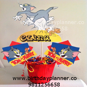 tom and jerry theme party decoration idea