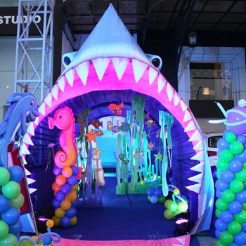 underwater theme for birthday party