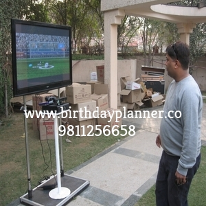 virtual xbox game for outdoor party