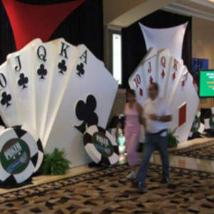 casino theme for party decoration