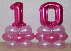 alphabetic balloon for party