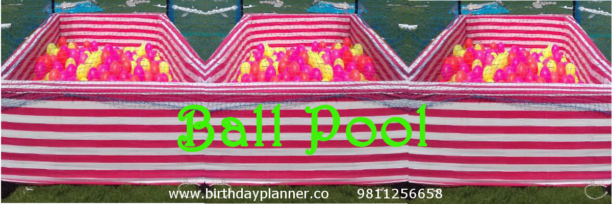 ball pool on rent delhi