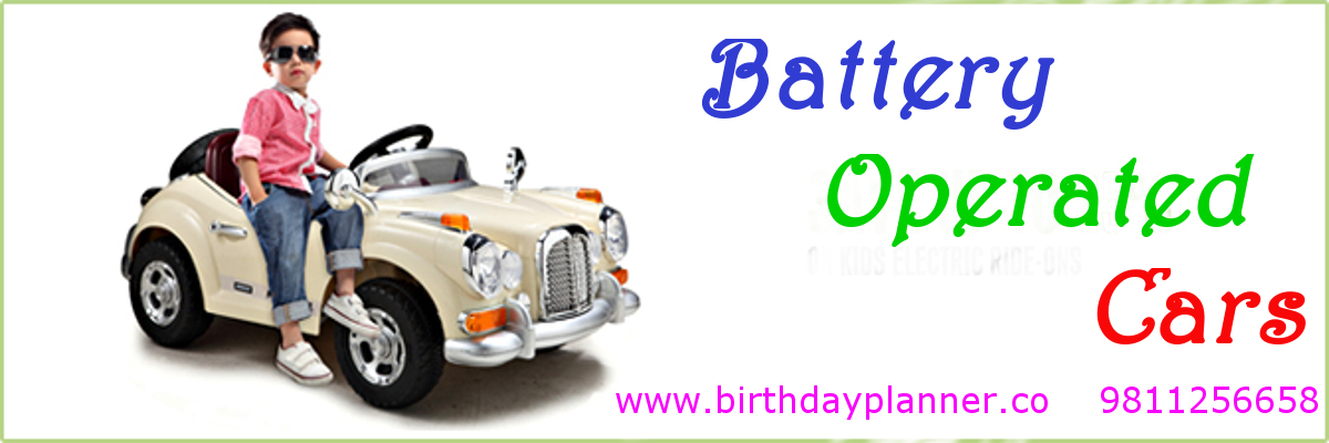 battery operated car on rent