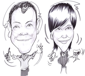 caricature artist for rent in Delhi