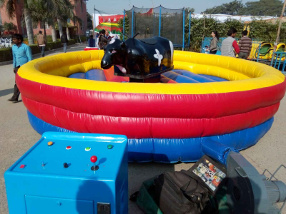 bull ride game for party