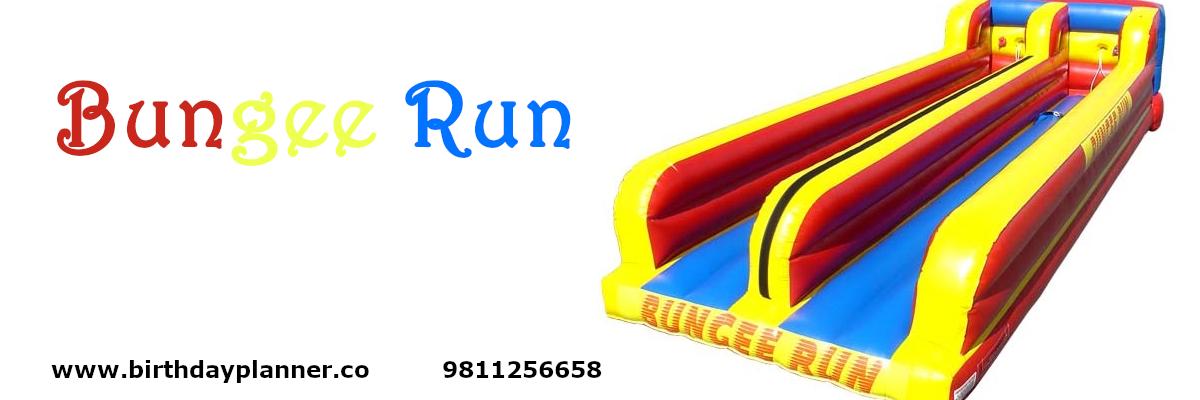 bungee run on rent