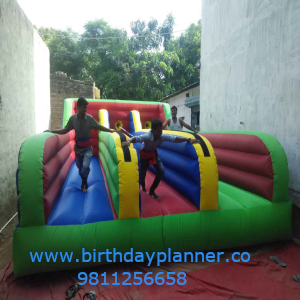 bungee game for kids corner