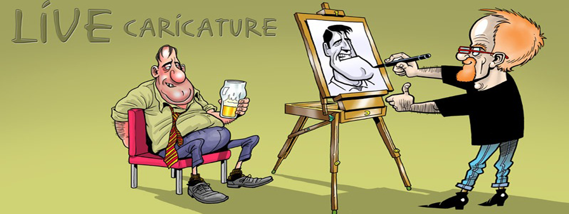 caricature artist on rent delhi