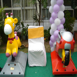 coin ride game for kids party