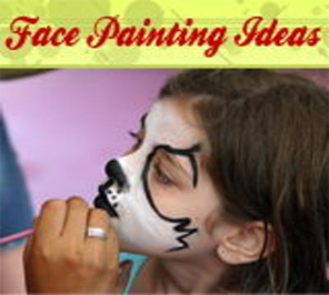 face painting for children's birthday party