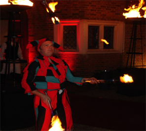 fire juggler for birthday party