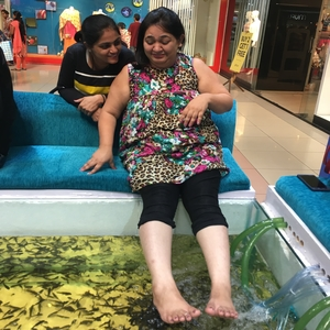 fish spa for kids