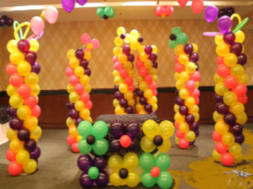balloon decoration for kids birthday party