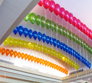 gas balloon for party decoration