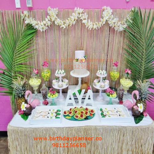 best hawaii theme party