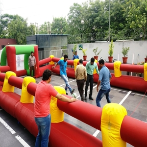 human foot ball for corporate events