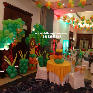 theme party decoration