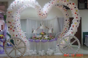 beautiful decoration for birthday party