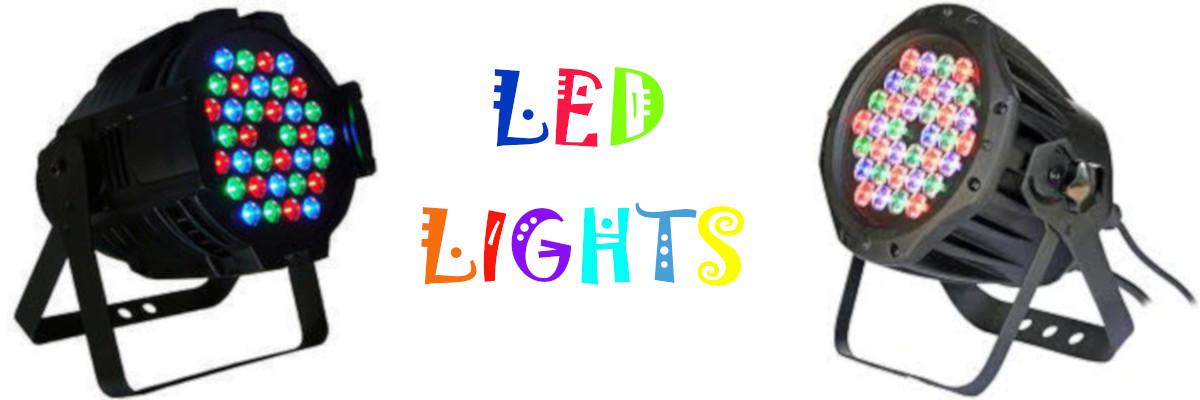 led lights on rent delhi
