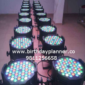 LED lights for birthday party