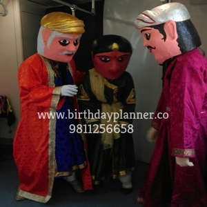 puppet muscat for rent in delhi