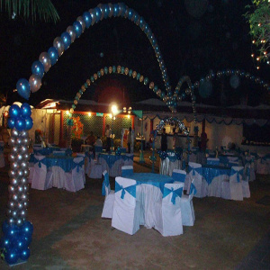 outdoor decoration for party