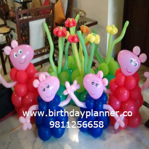 paap pig theme party decorator in india