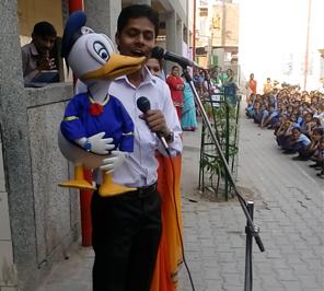 puppet show artist in delhi ncr