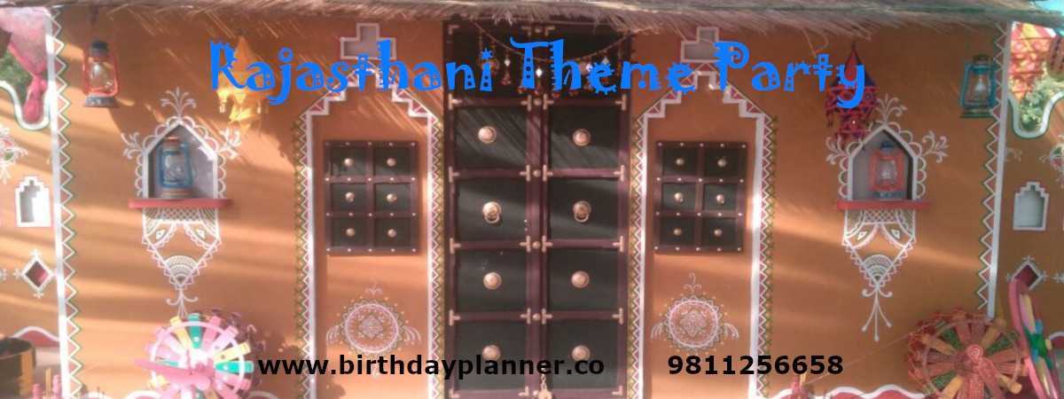 rajasthani theme party planner
